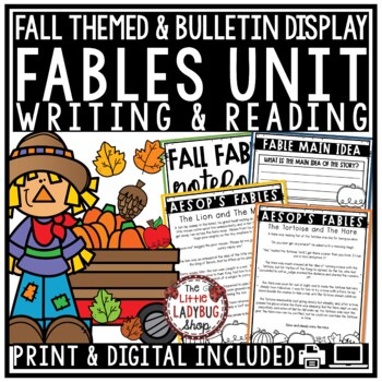 Fables Unit of Study [Fall Writing]