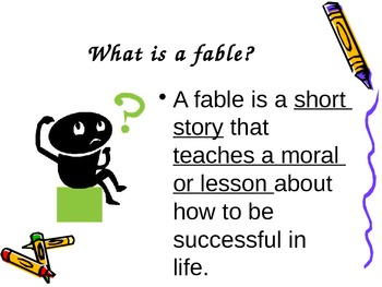 Fables Introduction PowerPoint