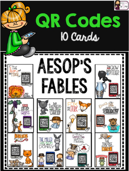 Aesop's Fables :  QR Code Listening Center Cards