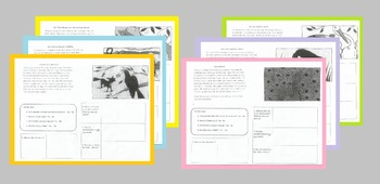 Fables- Short Reading Passages & Element Organizer Workshe