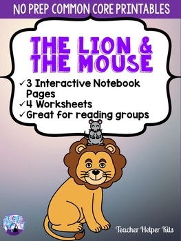 Fables-The Lion and the Mouse Worksheets