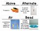 Fabric Science Vocabulary Cards (FOSS Fabric Module)