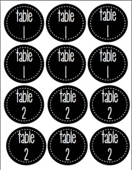 Fabulous Black and White Labels Bundle