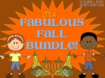 Fabulous Fall Bundle! (Fall, Thanksgiving, Veterans Day, a