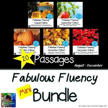 Fabulous Fluency Bundle - 5 Months August - December