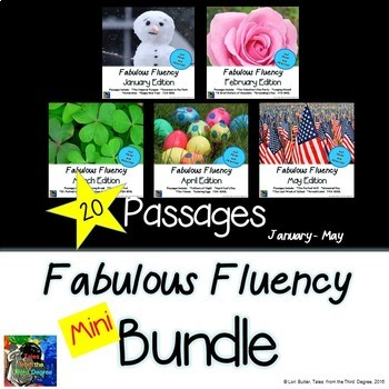 Fabulous Fluency Bundle - 5 Months Jan - May