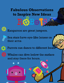 Fabulous Observations to Inspire New Ideas  - Robots