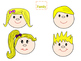 Face Clipart for your TPT projects or classroom
