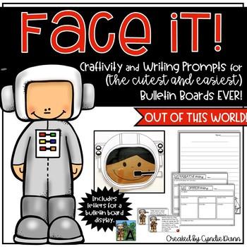 Astronaut Face It Craftivity