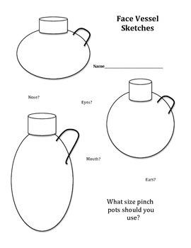 Face Vessel Sketch Ideas
