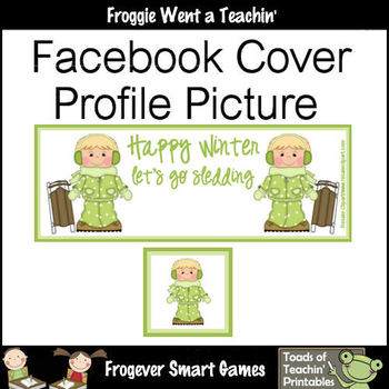 Facebook Covers-Profile Pictures--Happy Winter Let's Go Sl