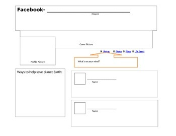 Facebook- Earth day