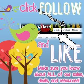 Facebook Follower Flyer (Keep in Touch) *FREEBIE*