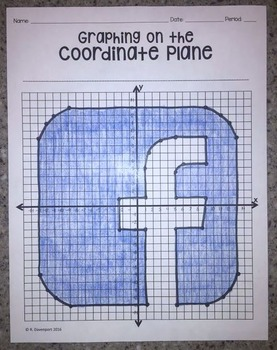 Facebook (Graphing on the Coordinate Plane/ Mystery Picture)