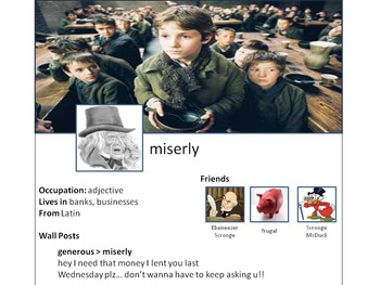 Facebook Vocabulary Project