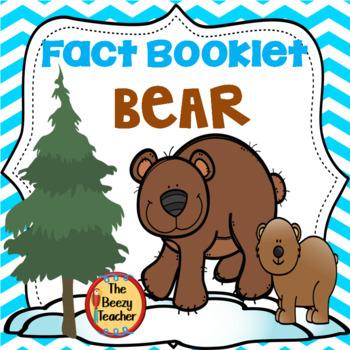 Fact Booklet - Bear