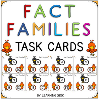 Fact Families (Math Facts)