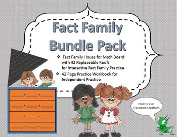 Fact Families: Bundle Pack - Great for Whole Group and Ind