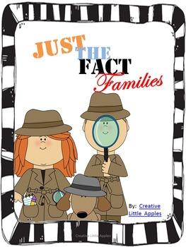 *UPDATED* Fact Families - First Grade {1.OA.C.6}
