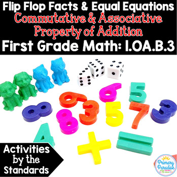 Fact Families, Make Ten, Doubles: Commutative & Associativ