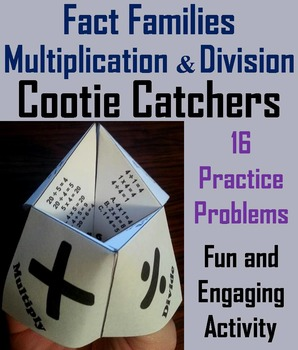 Fact Families Quiz Game (Multiplication and Division)  2nd