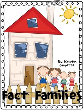 Fact Families Pack