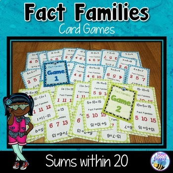 Fact Families - The Game