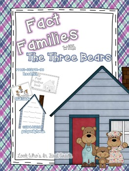 Fact Families with The Three Bears