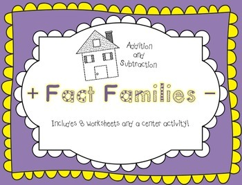 Fact Family Fun! (Addition and Subtraction)