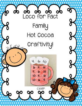 Fact Family Hot Cocoa Craftivity