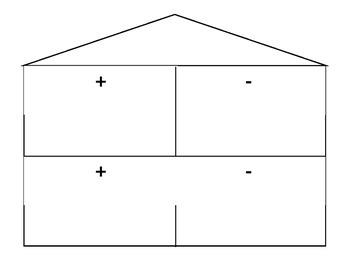 Fact Family House - Blank