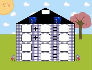 Fact Family House - SMARTBoard