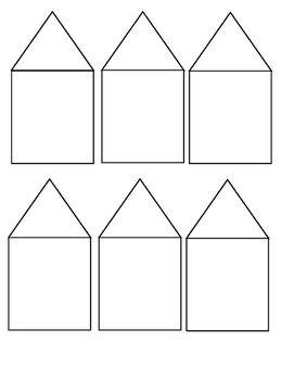 Fact Family Houses addition & subtraction