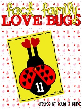 Fact Family Love Bugs!