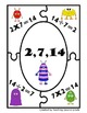 Fact Family Multiplication / Division Facts 24 Puzzles Cen