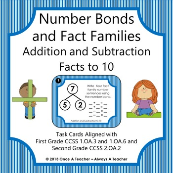 Number Bonds and Fact Families:  Addition and Subtraction