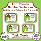 Fact Family Number Sentences:  Addition and Subtraction Fa