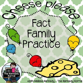 Fact Family Practice Sheets {Addition & Subtraction}