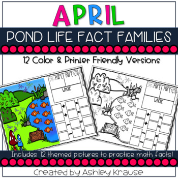 Fact Family: Spring Pond Life