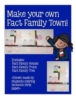 Fact Family Houses, Trucks, Trees