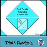 Fact Family Triangles by Diamond Mom