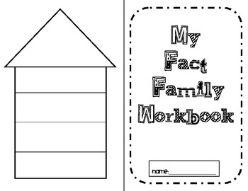 Fact Family Workbook (Addition and Subtraction)