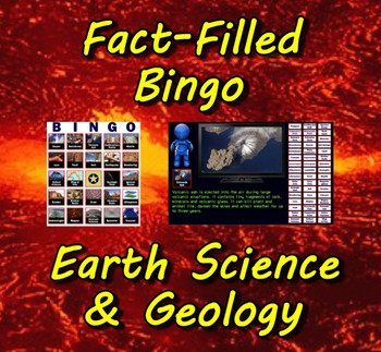 Fact-Filled Bingo - Earth Science & Geology