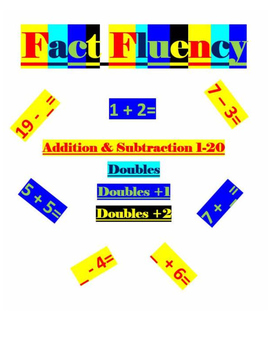 Math Fact Fluency- Addition And Subtraction 1-20