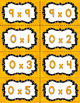 Math Fact Fluency Multiplication Practice 1-12&15 {YELLOW}