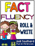 Fact Fluency Roll and Write (Addition & Subtraction)
