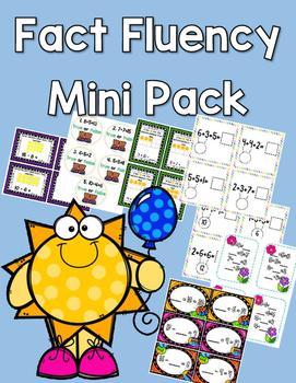 Fact Fluency Spring Pack