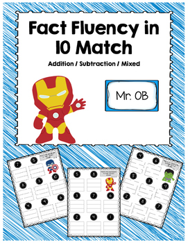 Fact Fluency in 10 Expression Match