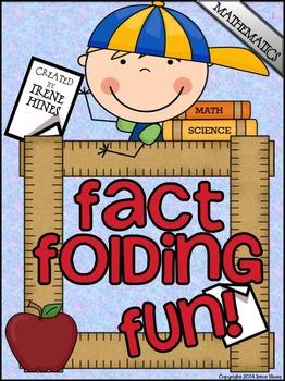 Foldables ~ Fact Folding Fun! Math Flip-Flap Books And Ele