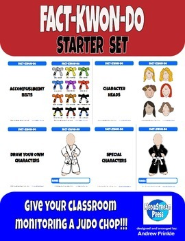 Fact-Kwon-Do Starter Set - Classroom Monitoring System & B